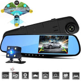 DashPro™ Dual Lens Dash Cam - Front & Rear, 1080P HD Video Recorder