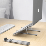 Ergonomic Adjustable Foldable Laptop Stand - Electronics