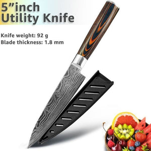 Gyuto Japanese Handmade Kitchen Knife - Home & Kitchen Finds