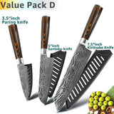 Gyuto Japanese Handmade Kitchen Knife - Value Pack D - Home & Kitchen Finds