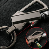 High End Car Key Holder & Multi Function Keychain - Outdoor Life