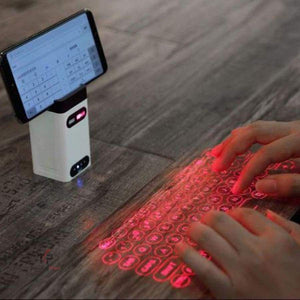Holographic Laser Projection Keyboard