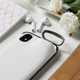 2-In-1 Silicone iPhone & Airpods Case - iPhone With Airpods Holder Case Cover