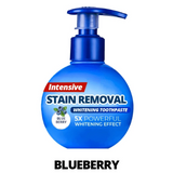 Intensive Stain Removal Toothpaste - Blueberry / 1 Pack - Health and Beauty