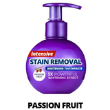 Intensive Stain Removal Toothpaste - Passion Fruit / 1 Pack - Health and Beauty