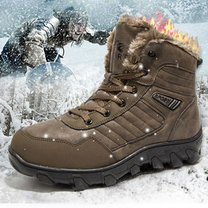 Mens Leather Sport Winter Boots - Outdoor Life