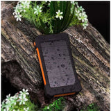 NEW Solar Power Phone Charger Featured on Fox News - Orange - Electronics