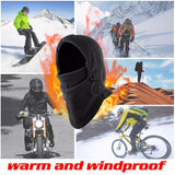 6 in 1 Thermal Fleece Outdoor Winter Wind Stopper Face Hats - Health and Beauty