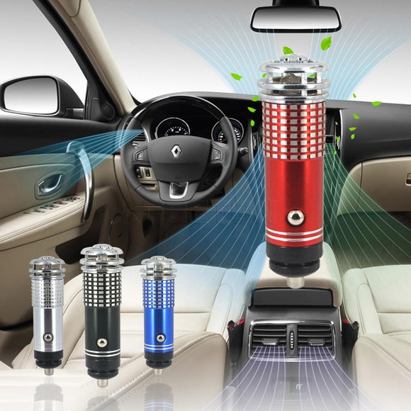 CleanAirCar™ Mini Car Air Freshener / Purifier Ionizer