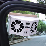 Solar Vehicle Exhaust Fan Turbinex - White - Outdoor Life