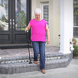 SteadyWalk Collapsible Walking Cane - Health and Beauty