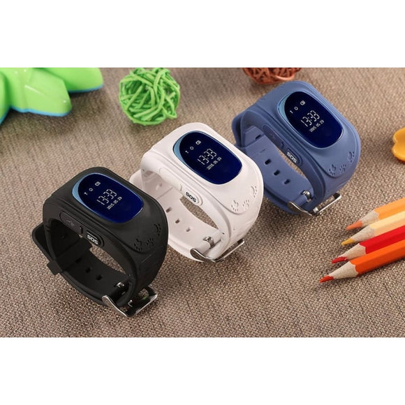 TrackSmart Kids Smart Watch With GPS Tracker iPhone Android - Baby & Kids