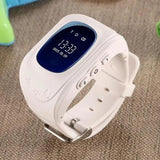 TrackSmart Kids Smart Watch With GPS Tracker iPhone Android - White - Baby & Kids