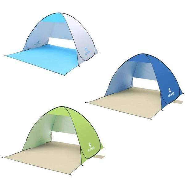 Deal Builder  -  Keumer Pop Up Beach Canopy Tent  -  Blue  -  Beach Tent