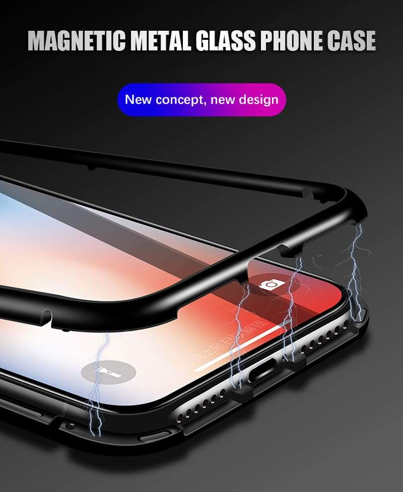 iPhone X Case Magnetic Back