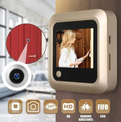 ClearView Peephole Camera