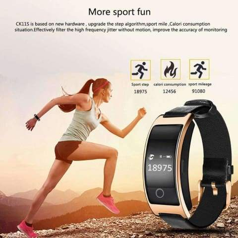 YouFit Blood Pressure and Heart Rate Monitor Smart Watch