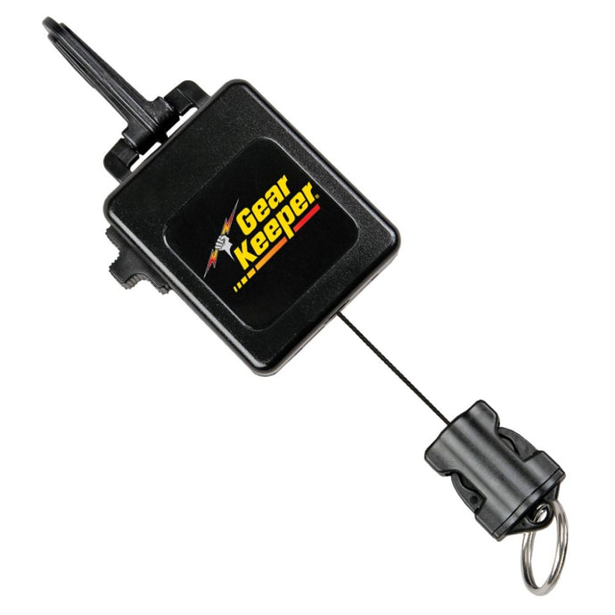 Gearkeeper Torch/Camera Retractor w. SS Clip