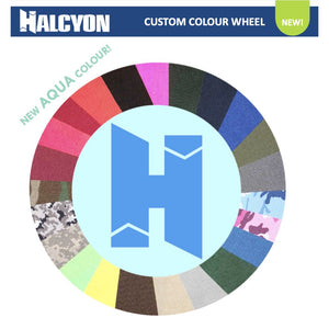 halcyon custom colour wheel