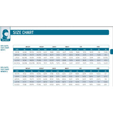 Load image into Gallery viewer, Cressi Drysuit Size chart