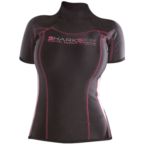Sharkskin Chillproof Short Sleeve female women
