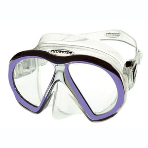 Atomic Subframe Mask Clear Purple