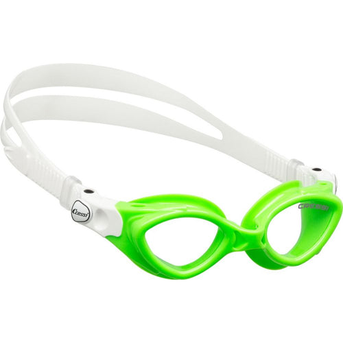 Cressi King Crab Swimming Goggle Lime