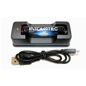 intova 18650 battery and charger