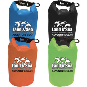 land and sea personalised item dry bag