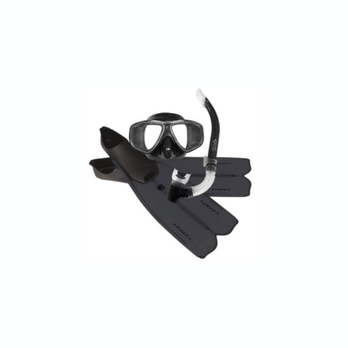 Oceanpro Thrust Mask, Snorkel & Fin Set Black