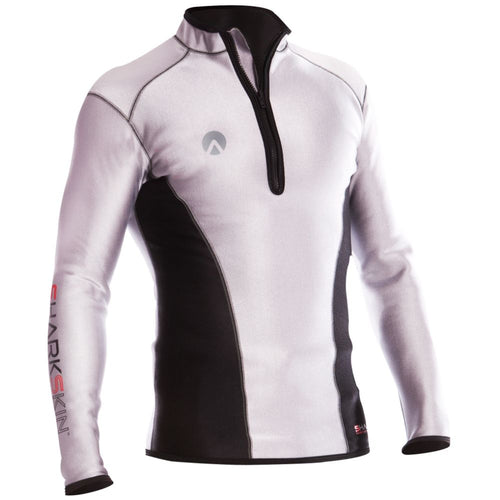 Sharkskin Chillproof Long Sleeve Chest Zip Reflective men male
