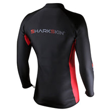 Load image into Gallery viewer, Sharkskin Chillproof Long Sleeve Front Zip back view