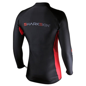 Sharkskin Chillproof Long Sleeve Front Zip back view