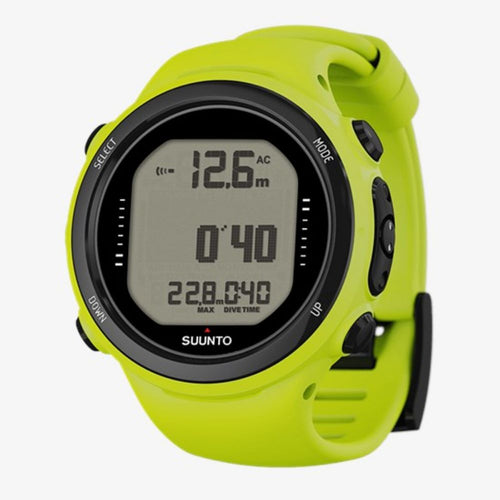 suunto d4i novo dive and freedive computer lime