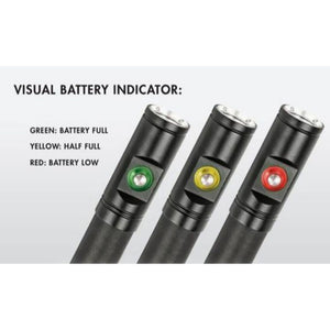 intova 1000 usb video light battery indicator