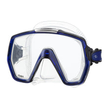 Load image into Gallery viewer, mask tusa freedomhd clear cobalt blue