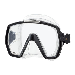 mask tusa freedomhd clear black