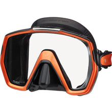 Load image into Gallery viewer, tusa freedomhd mask black electric orange