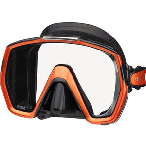 tusa freedomhd mask black electric orange
