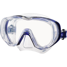Load image into Gallery viewer, tusa freedom triquest mask clear cobalt blue