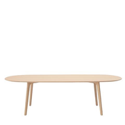 maruni roundish dining table, large