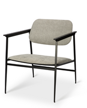 DC lounge chair - light grey