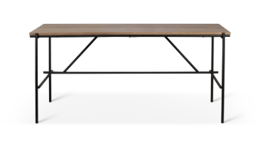 ethnicraft teak oscar high meeting table, L 87"