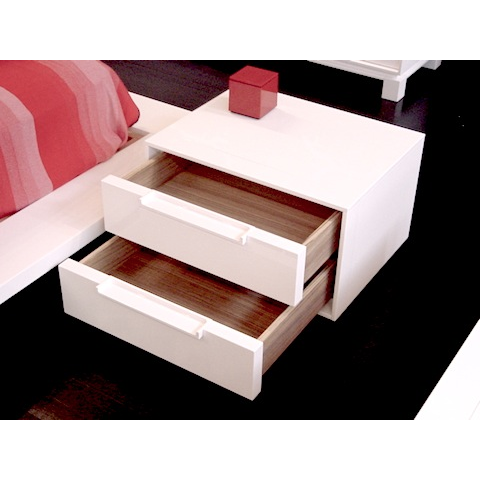 cecchini bedside drawers with handles