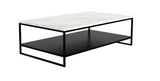 ethnicraft stone coffee table, L 47"