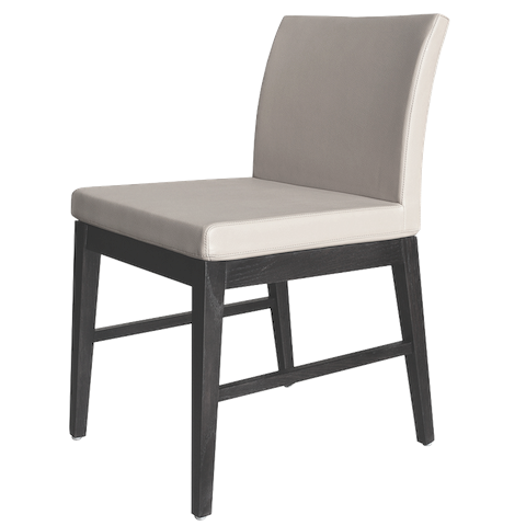 cite aa wood dining chair with stretchers