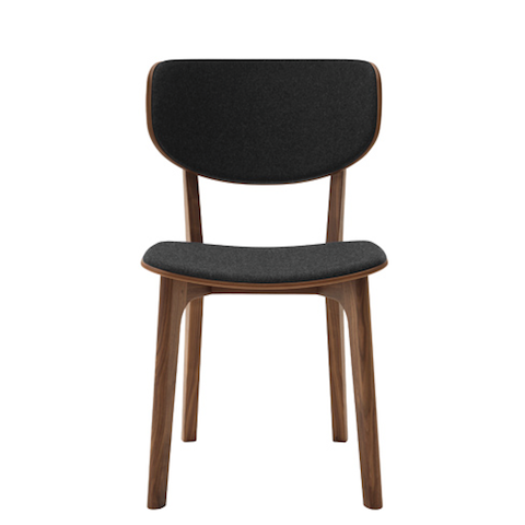 maruni roundish chair, cushioned