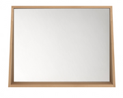 ethnicraft oak qualitime bathroom mirror, L 35"