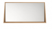 ethnicraft oak qualitime bathroom mirror, L 55"