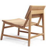 Oak N2 lounge chair